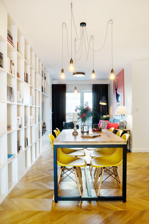 adelaparvu.com despre apartament 60 mp, Polonia, Designer Pawel Liszewski, Foto Tomasz Suszczynski, sufragerie (7)