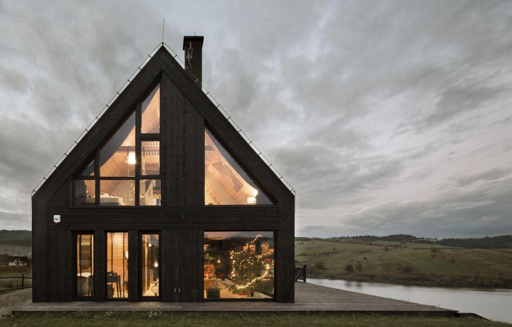 adelaparvu.com despre casa contemporana inspirata de arhitectura traditionala, Design Hola Design Studio, arhitectura Exterior, Foto Yassen Hristov (12)