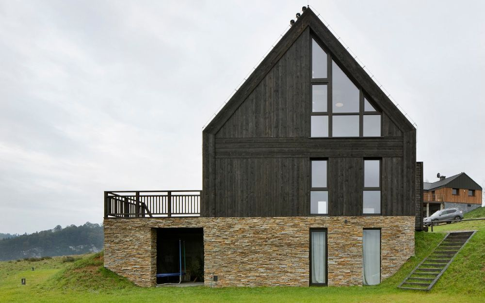adelaparvu.com despre casa contemporana inspirata de arhitectura traditionala, Design Hola Design Studio, arhitectura Exterior, Foto Yassen Hristov (28)
