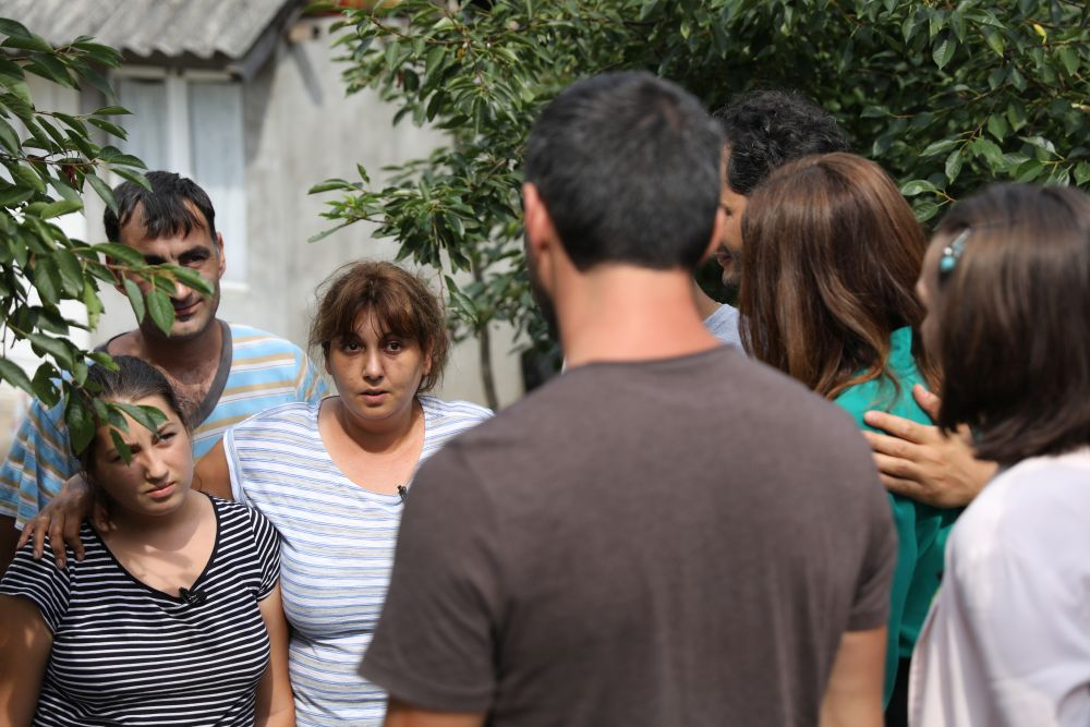 Familia Marinoiu sub impactul șocului întâlnirii cu echipa Visuri la cheie.