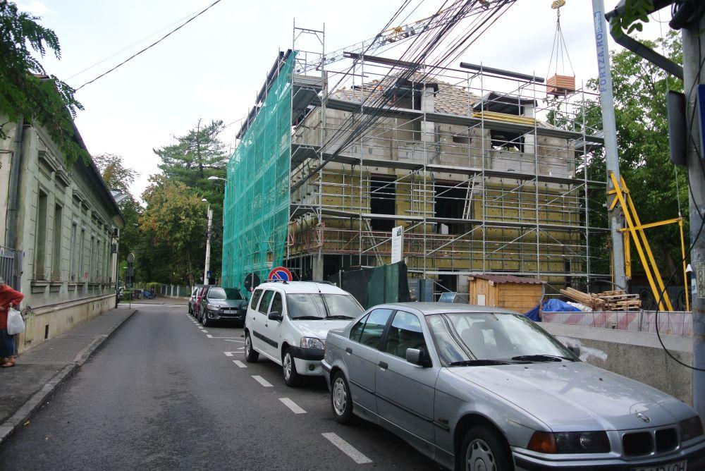 adelaparvu.com despre clinica de dermatologie construita cu blocuri Macon, proiect arh. Vlad Rusu Foto Macon (2)