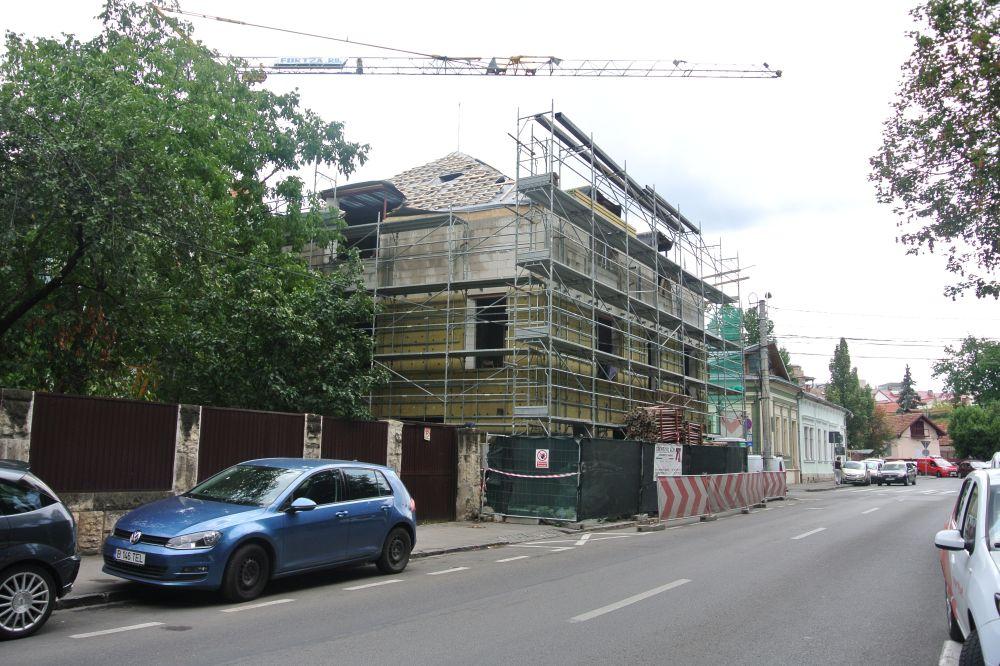 adelaparvu.com despre clinica de dermatologie construita cu blocuri Macon, proiect arh. Vlad Rusu Foto Macon (4)