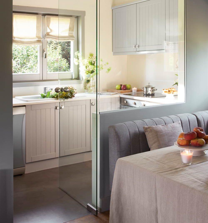 adelaparvu.com despre idei pentru locul de masa in bucatarii mici, Foto ElMueble (10)