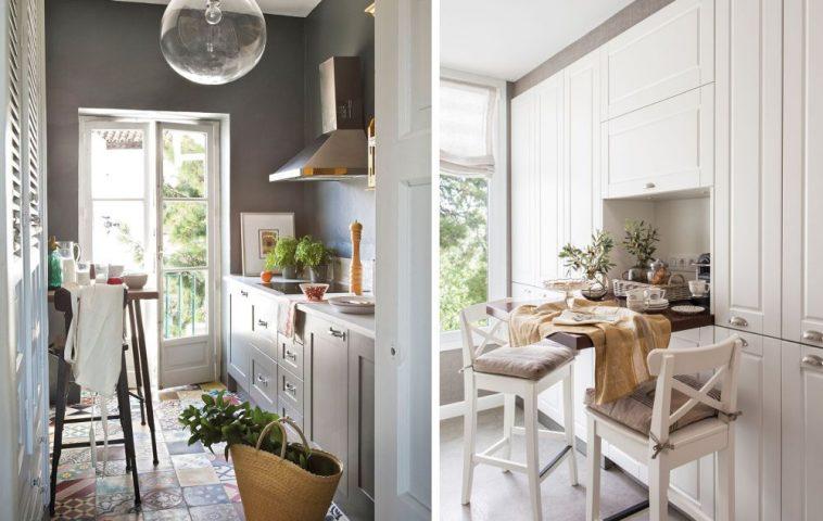 adelaparvu.com despre idei pentru locul de masa in bucatarii mici, Foto ElMueble (13)