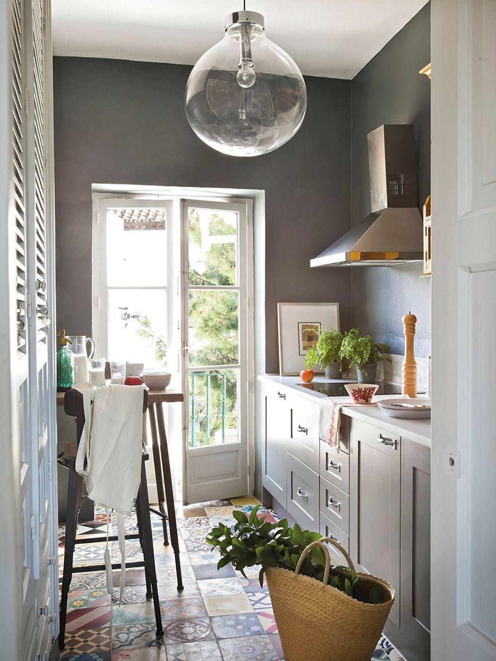adelaparvu.com despre idei pentru locul de masa in bucatarii mici, Foto ElMueble (14)