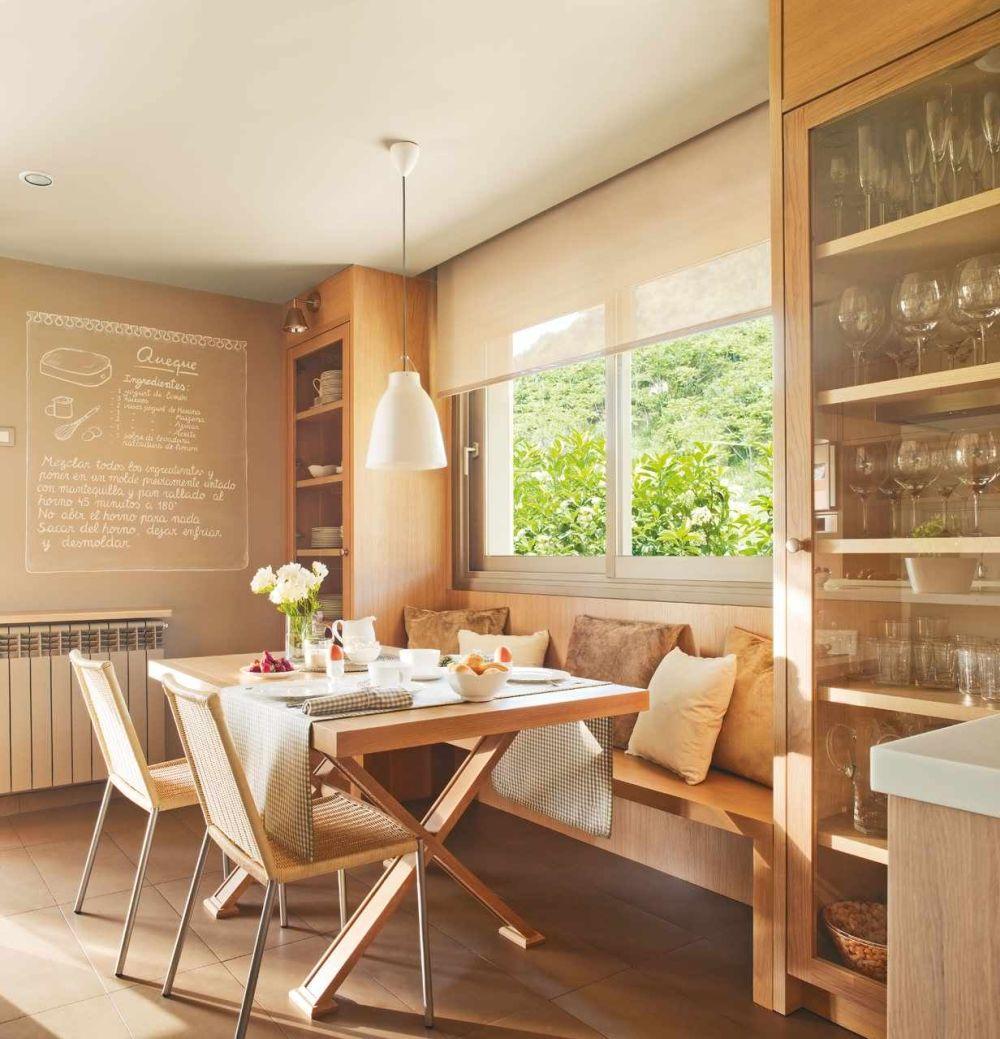 adelaparvu.com despre idei pentru locul de masa in bucatarii mici, Foto ElMueble (15)