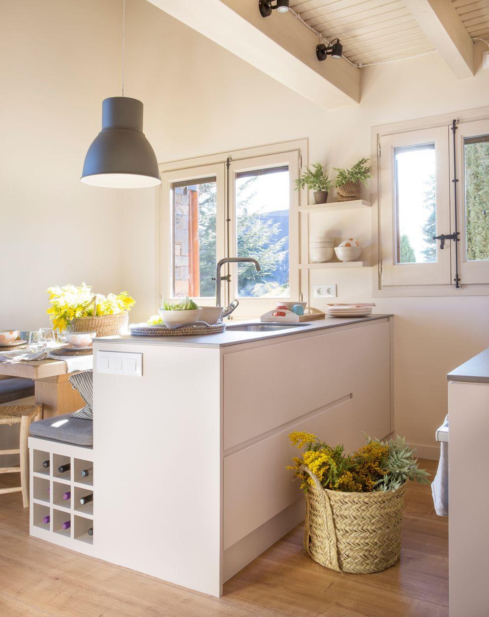 adelaparvu.com despre idei pentru locul de masa in bucatarii mici, Foto ElMueble (16)