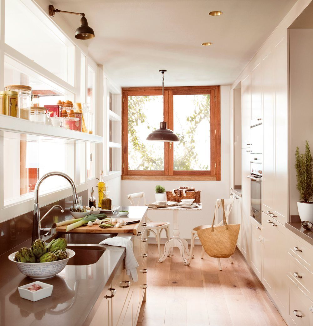 adelaparvu.com despre idei pentru locul de masa in bucatarii mici, Foto ElMueble (2)