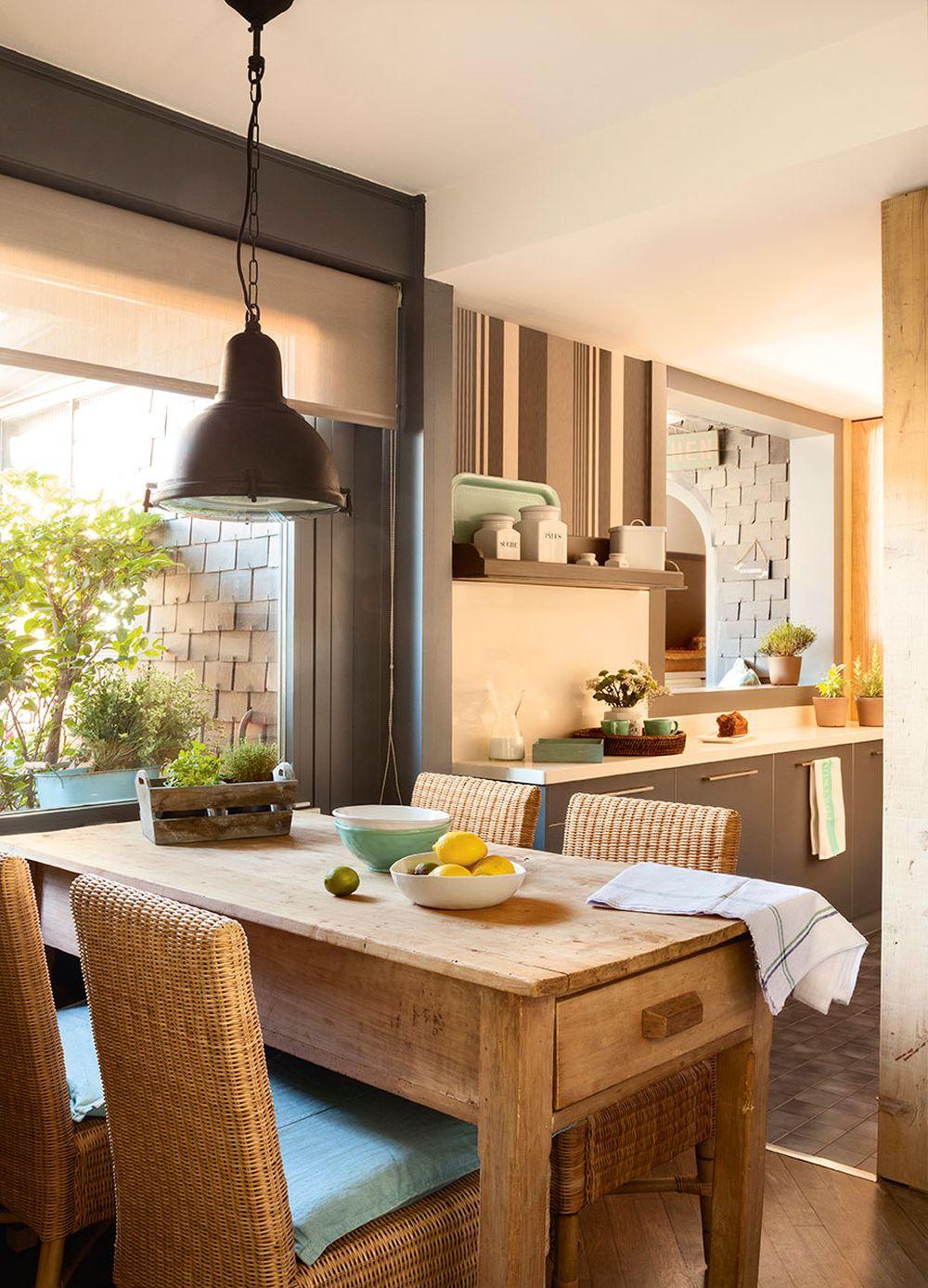 adelaparvu.com despre idei pentru locul de masa in bucatarii mici, Foto ElMueble (3)