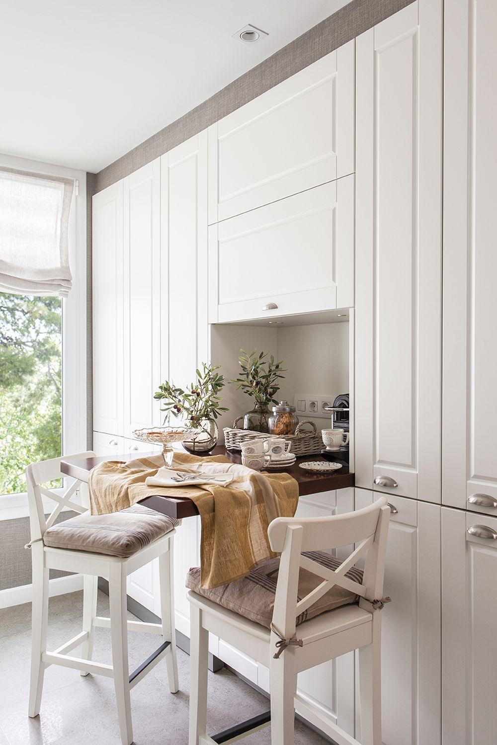 adelaparvu.com despre idei pentru locul de masa in bucatarii mici, Foto ElMueble (4)