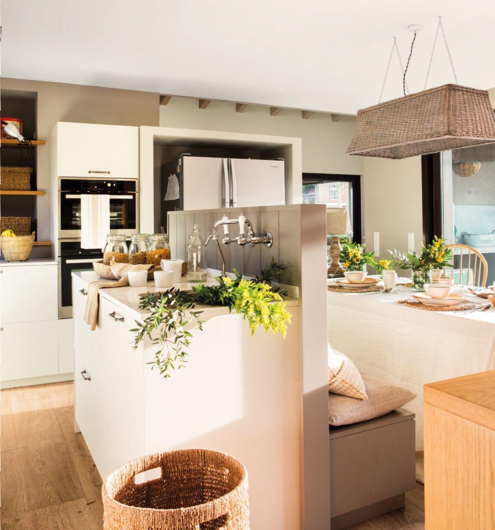 adelaparvu.com despre idei pentru locul de masa in bucatarii mici, Foto ElMueble (6)