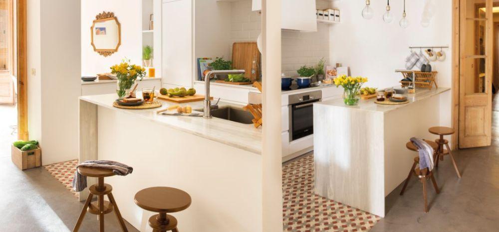 adelaparvu.com despre idei pentru locul de masa in bucatarii mici, Foto ElMueble (7)