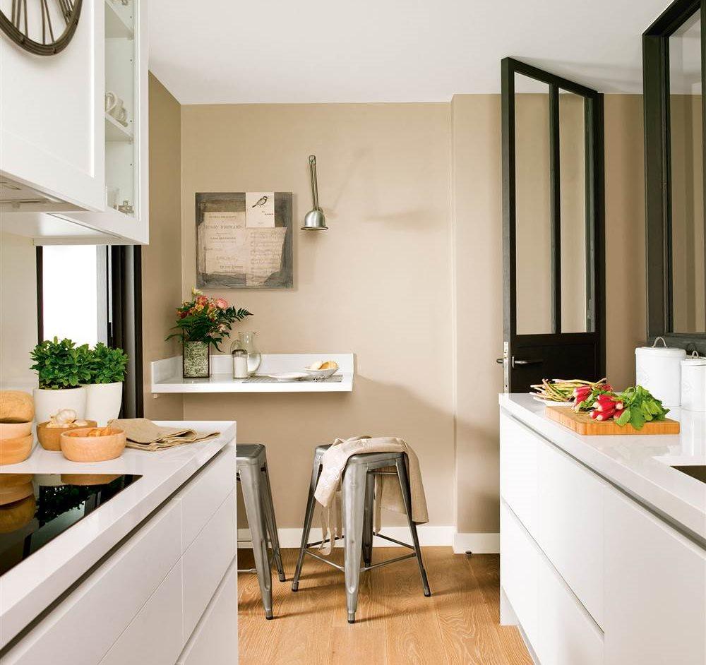 adelaparvu.com despre idei pentru locul de masa in bucatarii mici, Foto ElMueble (8)