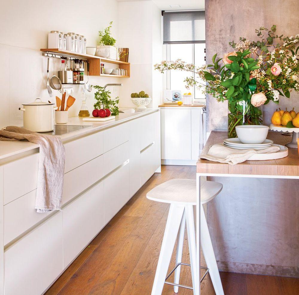 adelaparvu.com despre idei pentru locul de masa in bucatarii mici, Foto ElMueble (9)