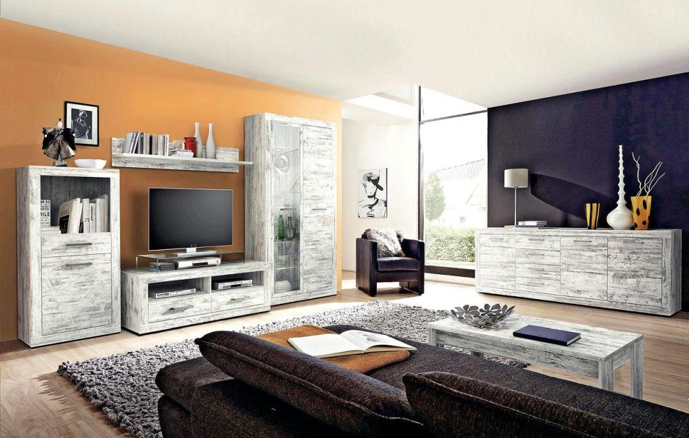 Gama de mobilă pentru living EDINBURGH. Vezi detalii și preț AICI.