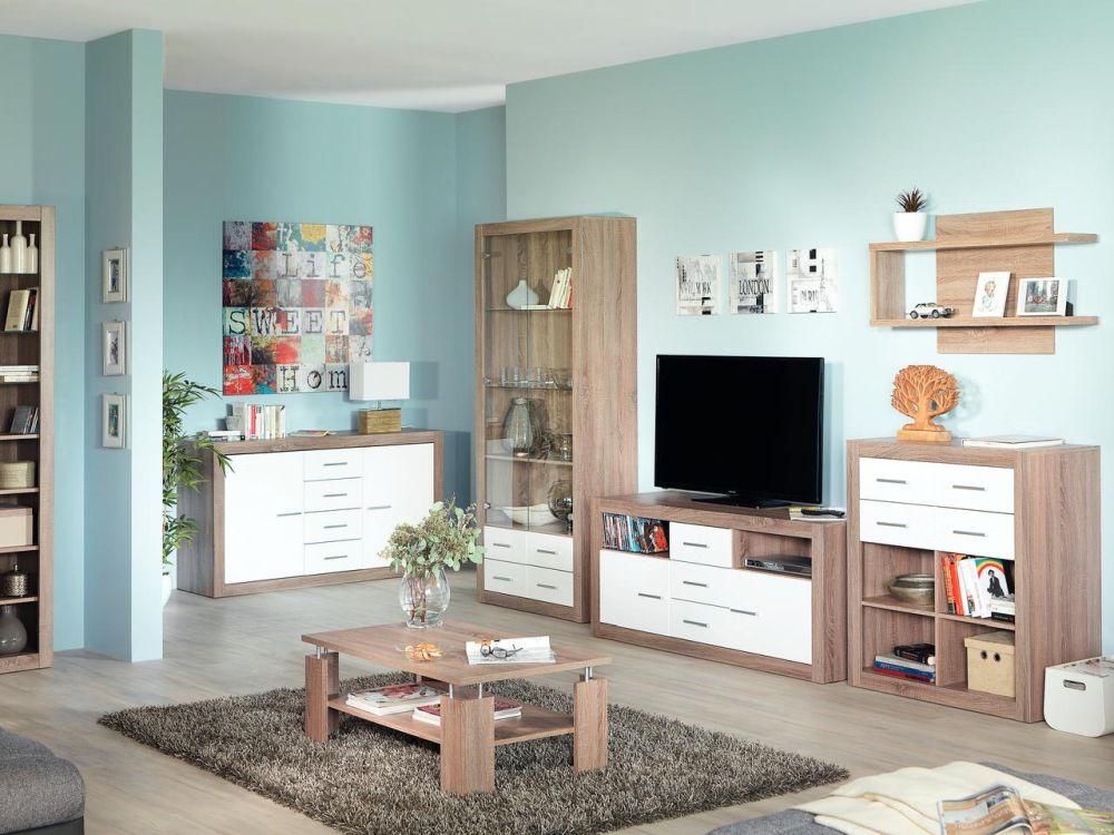 Gama de mobilă pentru living LOOK. Vezi detalii și preț AICI.