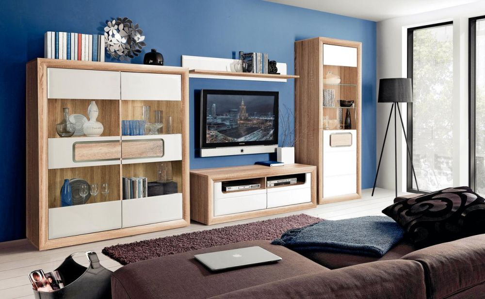 Gama de mobilă pentru living Tiziano alb Vezi detalii și preț AICI.