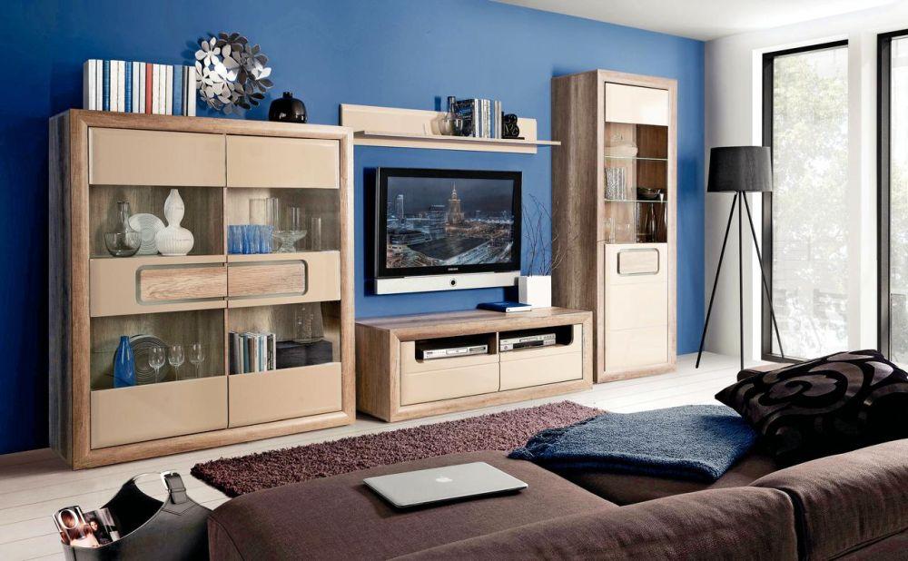 Gama de mobilă pentru living Tiziano crem. Vezi detalii și preț AICI.