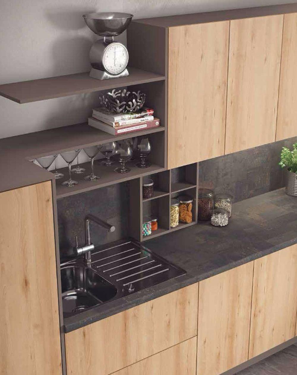 adelaparvu.com despre placare peretelui in bucatarie, panouri pentru bucatarie, Foto Egger (13)
