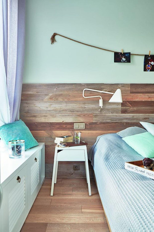 adelaparvu.com despre placari cu lemn in apartament 80 mp, Polonia, arh. Krystyna Regulska, Foto Michal Skorupski (10)