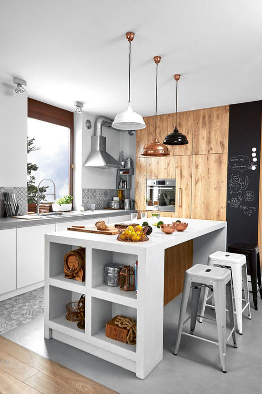 adelaparvu.com despre placari cu lemn in apartament 80 mp, Polonia, arh. Krystyna Regulska, Foto Michal Skorupski (11)