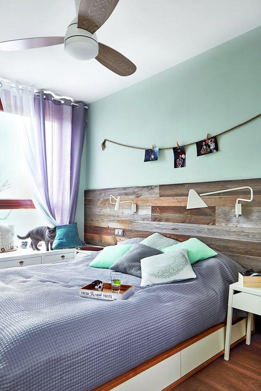 adelaparvu.com despre placari cu lemn in apartament 80 mp, Polonia, arh. Krystyna Regulska, Foto Michal Skorupski (5)