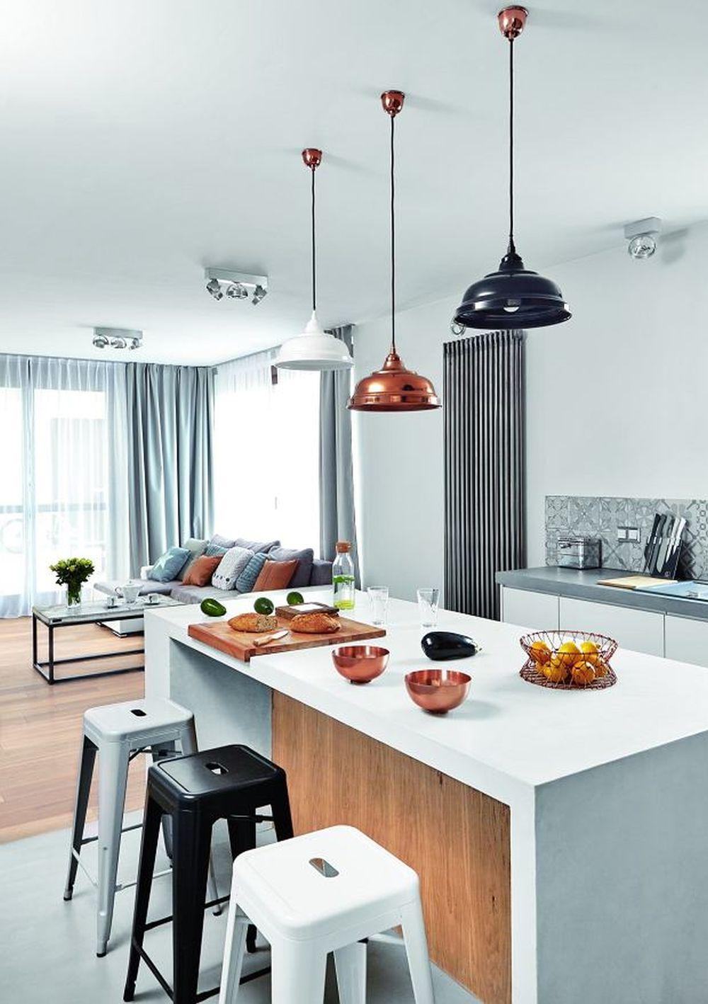 adelaparvu.com despre placari cu lemn in apartament 80 mp, Polonia, arh. Krystyna Regulska, Foto Michal Skorupski (6)
