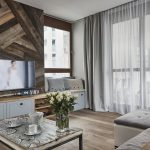 adelaparvu.com despre placari cu lemn in apartament 80 mp, Polonia, arh. Krystyna Regulska, Foto Michal Skorupski (9)