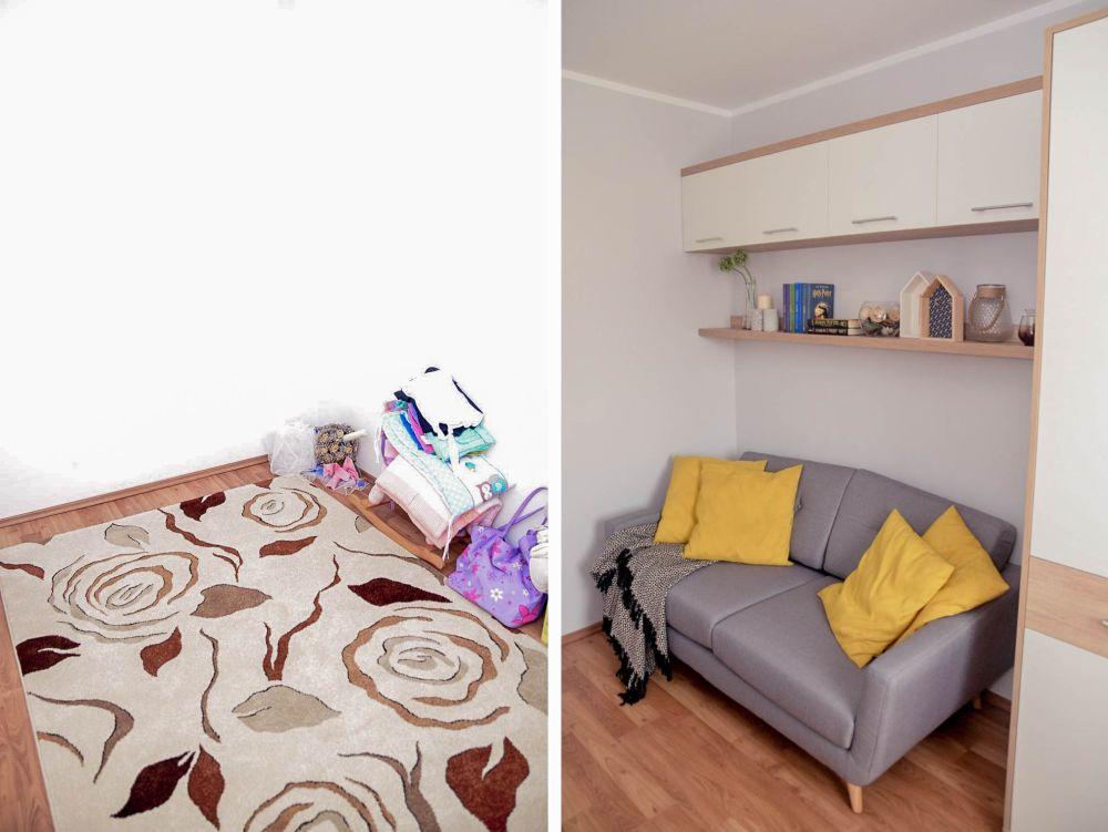 adelaparvu.com despre reamenajare casa Oradea, premiul Kaufland Traieste Fresh, design Ara Design Studio, Camera oaspeti (1)