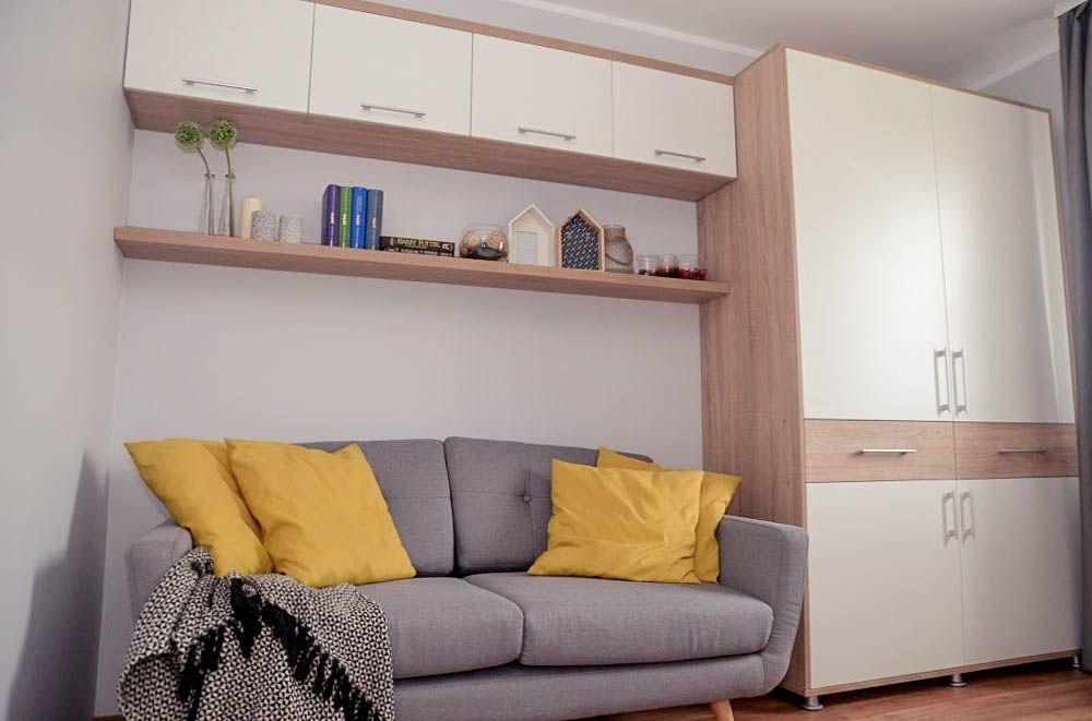 adelaparvu.com despre reamenajare casa Oradea, premiul Kaufland Traieste Fresh, design Ara Design Studio, Camera oaspeti (2)