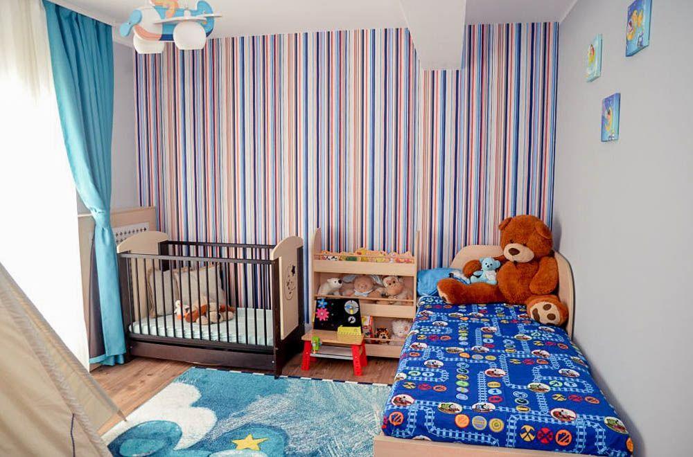 adelaparvu.com despre reamenajare casa Oradea, premiul Kaufland Traieste Fresh, design Ara Design Studio, camera baiat (2)