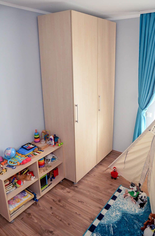 adelaparvu.com despre reamenajare casa Oradea, premiul Kaufland Traieste Fresh, design Ara Design Studio, camera baiat (4)