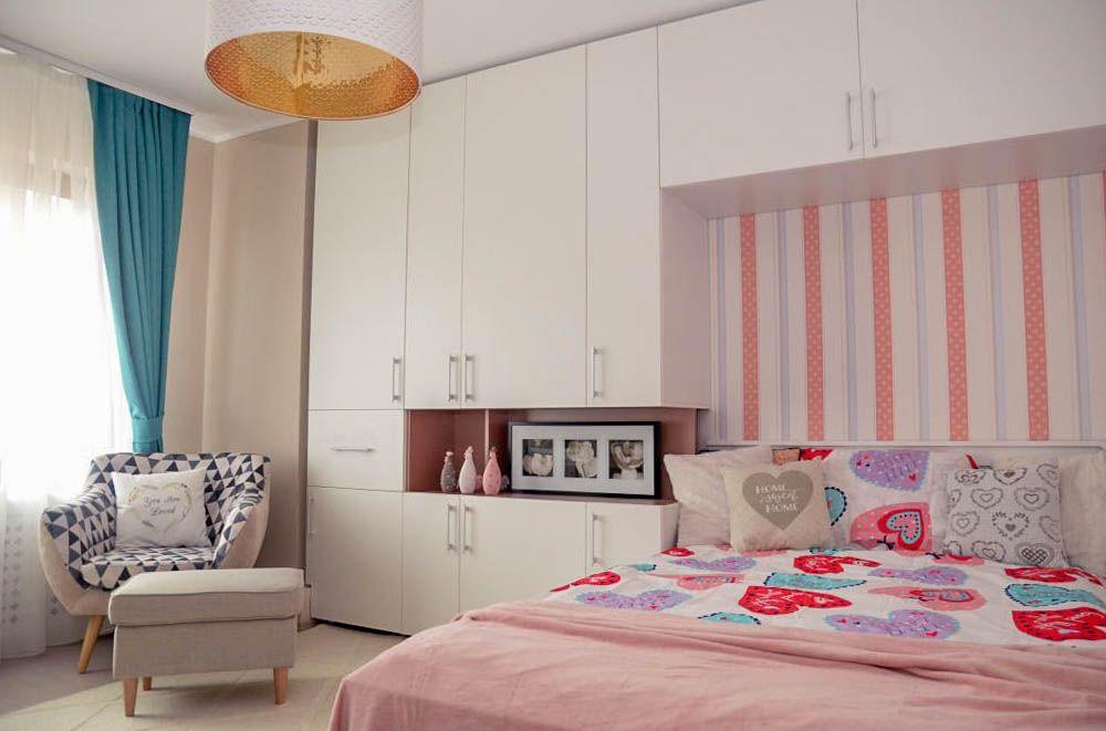 adelaparvu.com despre reamenajare casa Oradea, premiul Kaufland Traieste Fresh, design Ara Design Studio, camera fetita (3)