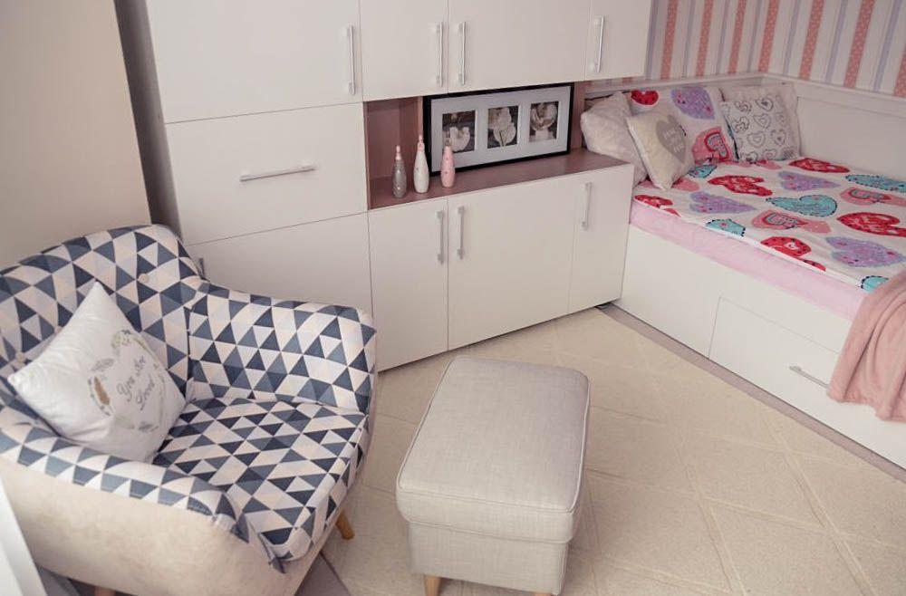 adelaparvu.com despre reamenajare casa Oradea, premiul Kaufland Traieste Fresh, design Ara Design Studio, camera fetita (5)