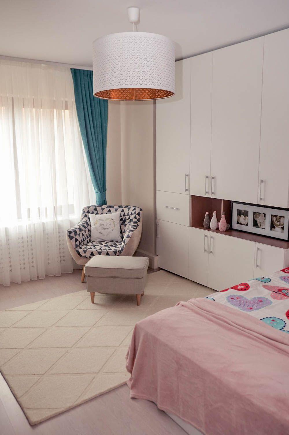 adelaparvu.com despre reamenajare casa Oradea, premiul Kaufland Traieste Fresh, design Ara Design Studio, camera fetita (6)