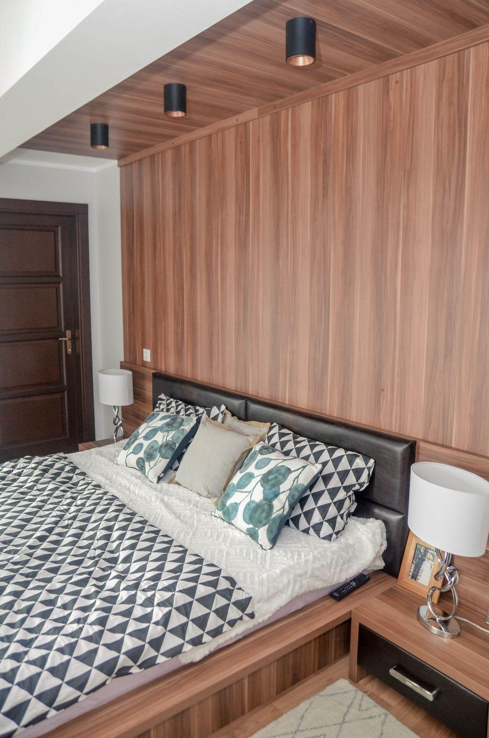 adelaparvu.com despre reamenajare casa Oradea, premiul Kaufland Traieste Fresh, design Ara Design Studio, dormitor matrimonial (2)