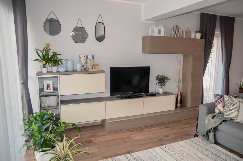 adelaparvu.com despre reamenajare casa Oradea, premiul Kaufland Traieste Fresh, design Ara Design Studio, living (5)