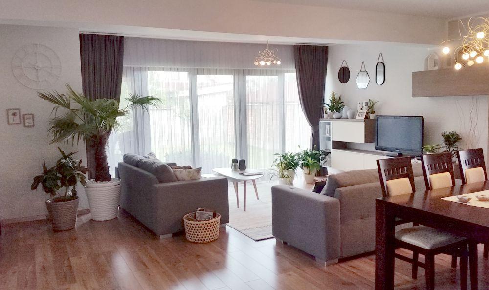 adelaparvu.com despre reamenajare casa Oradea, premiul Kaufland Traieste Fresh, design Ara Design Studio, living (9)