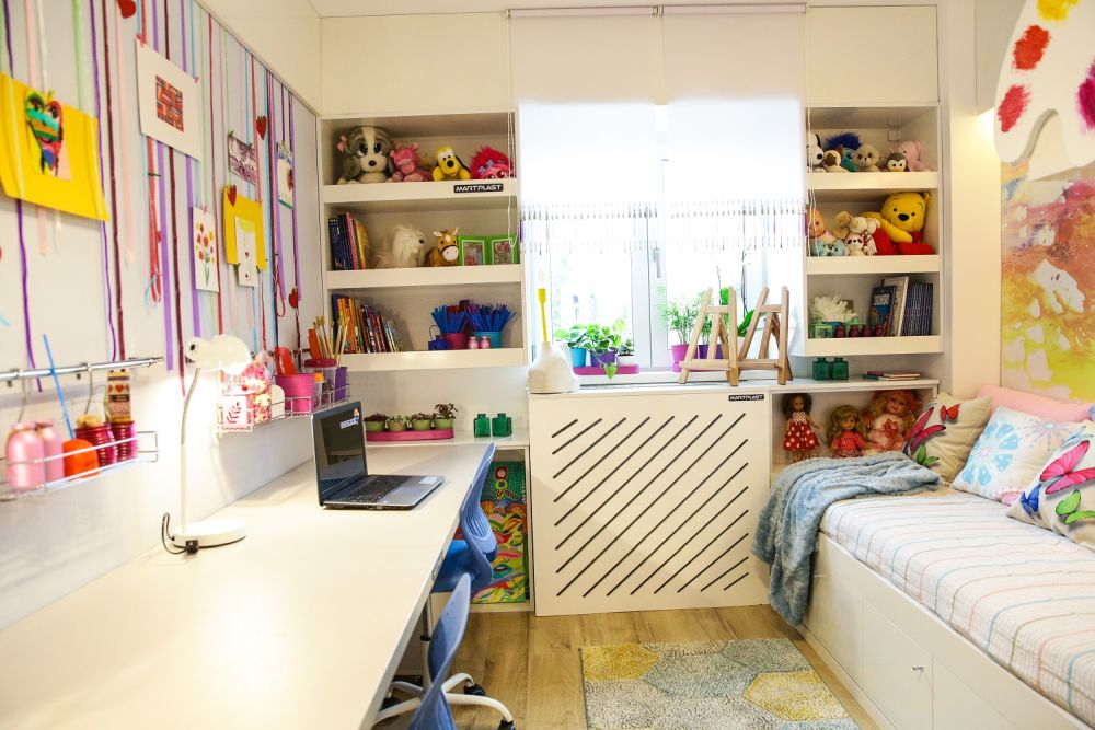 adelaparvu.com despre renovarea apartamentului familiei Jitaru din Campina, episodul 7, sezonul 4, Visuri la cheie, camera fetelor (1)