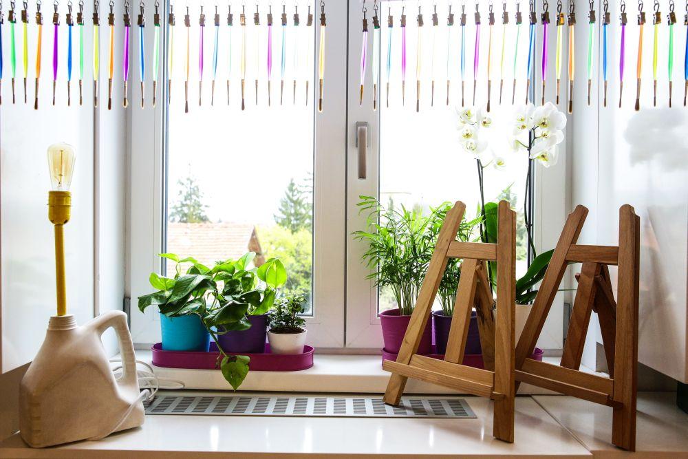 adelaparvu.com despre renovarea apartamentului familiei Jitaru din Campina, episodul 7, sezonul 4, Visuri la cheie, camera fetelor (4)