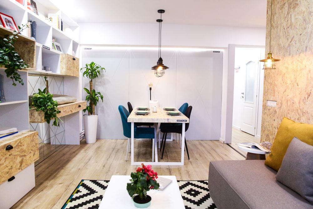 adelaparvu.com despre renovarea apartamentului familiei Jitaru din Campina, episodul 7, sezonul 4, Visuri la cheie, living (3)