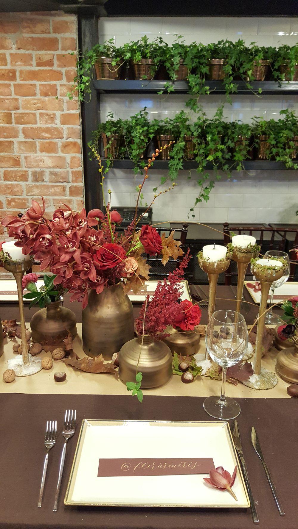 adelaparvu.com despre The wedding Company 2017, designer Nicu Bocancea, Floraria Iris, Foro Carli Marian, toamna (2)