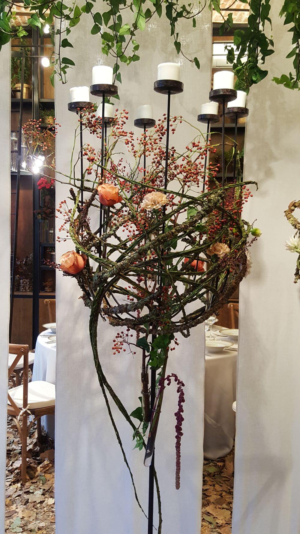 adelaparvu.com despre The wedding Company 2017, designer Nicu Bocancea, Floraria Iris, Foro Carli Marian, toamna (3)