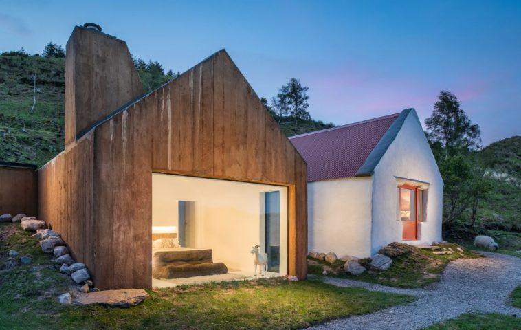 adelaparvu.com despre cabana Lost Cottage Irlanda, design Goodform, Foto Unique Home Stays (1)