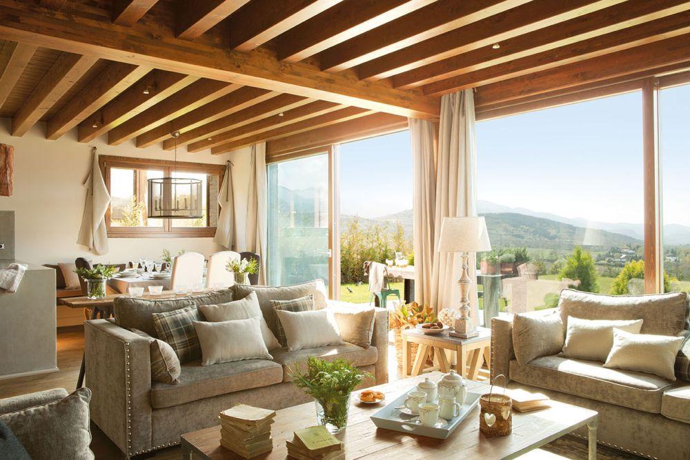 adelaparvu.com despre casa cu plafon rustic, dar amenajare urbana, designer Jeanette Trensig, Foto ElMueble (1)