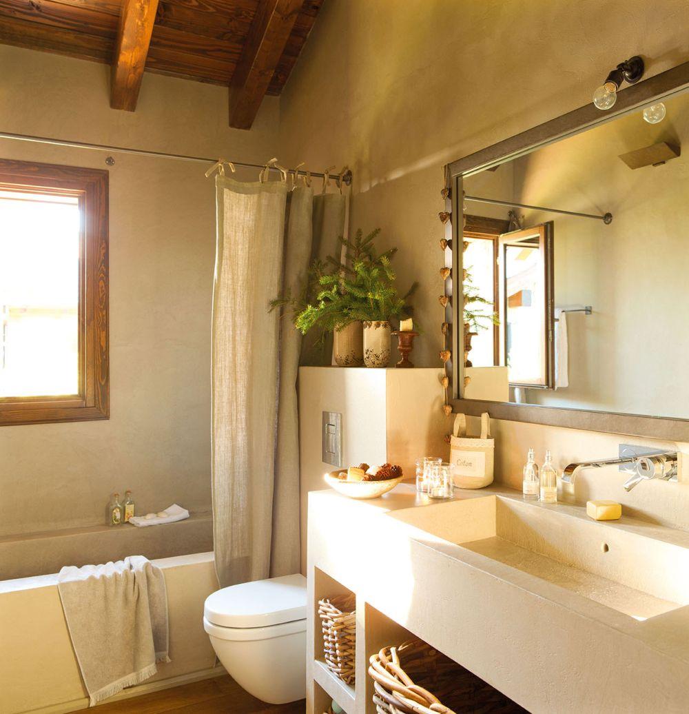 adelaparvu.com despre casa cu plafon rustic, dar amenajare urbana, designer Jeanette Trensig, Foto ElMueble (9)