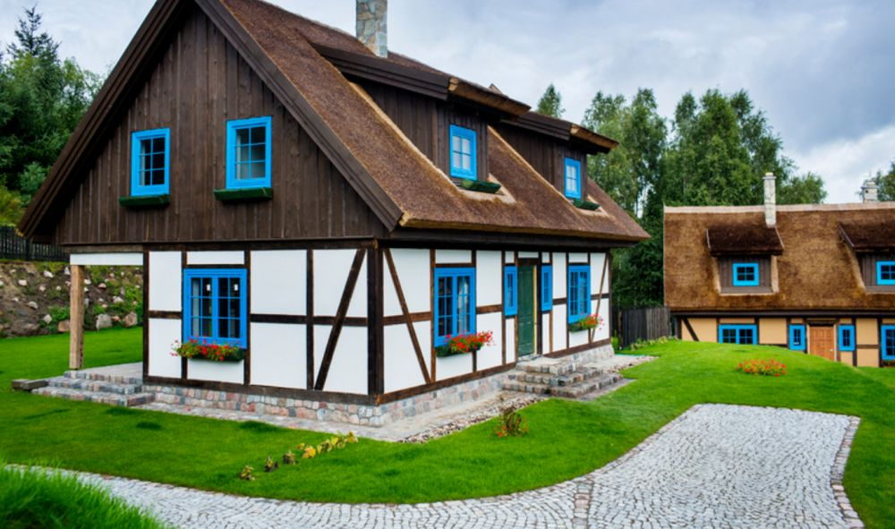 adelaparvu.com despre casa rustica cu stuf si interior actual, Polonia, designer Joanna Kirylowicz, Foto Celestyna Krol (19)