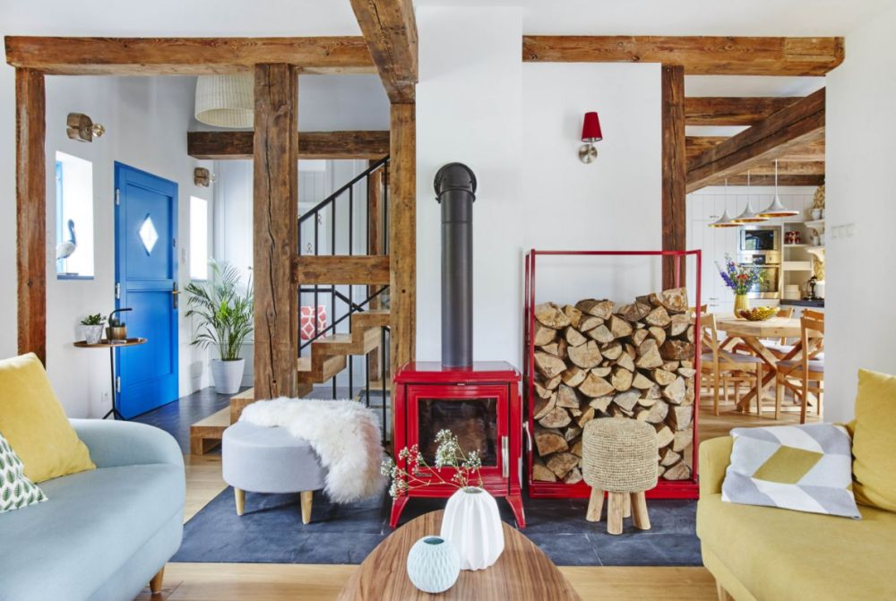 adelaparvu.com despre casa rustica cu stuf si interior actual, Polonia, designer Joanna Kirylowicz, Foto Celestyna Krol (20)