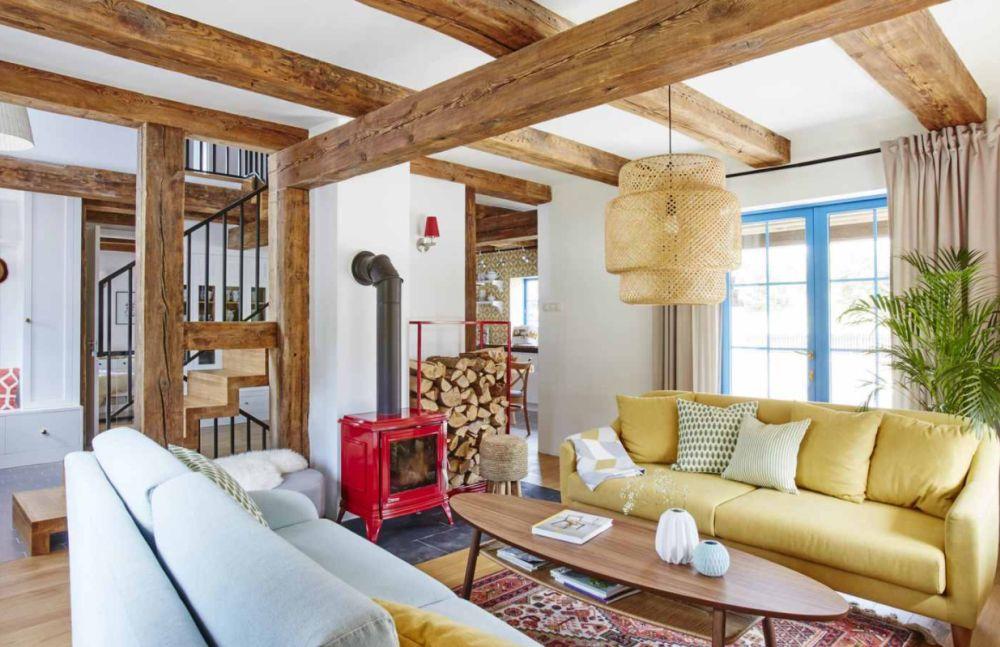 adelaparvu.com despre casa rustica cu stuf si interior actual, Polonia, designer Joanna Kirylowicz, Foto Celestyna Krol (22)
