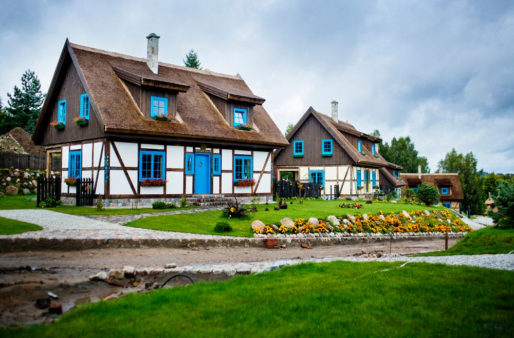 adelaparvu.com despre casa rustica cu stuf si interior actual, Polonia, designer Joanna Kirylowicz, Foto Celestyna Krol (23)